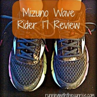 Mizuno Wave Rider 17 Review