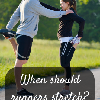 Stretching for Runners: When should runners stretch?