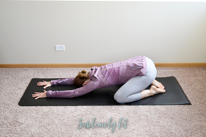 Foot Stretches: Child's Pose