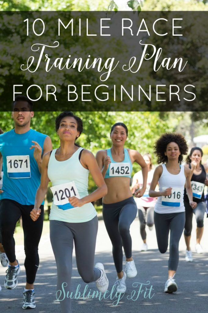 10 Mile Race Training Plan for Beginners - An easy training plan perfect for beginners moving from the 5K up to a 10 mile race. Perfect for the Soldier Field 10 Miler or any other 10 mile race!