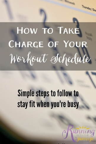 Feel like you can never fit your workouts into your busy life? Here's how to take charge of your workout schedule so you can meet your fitness goals!