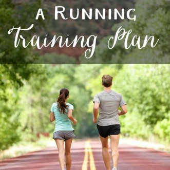 How to choose a running training plan