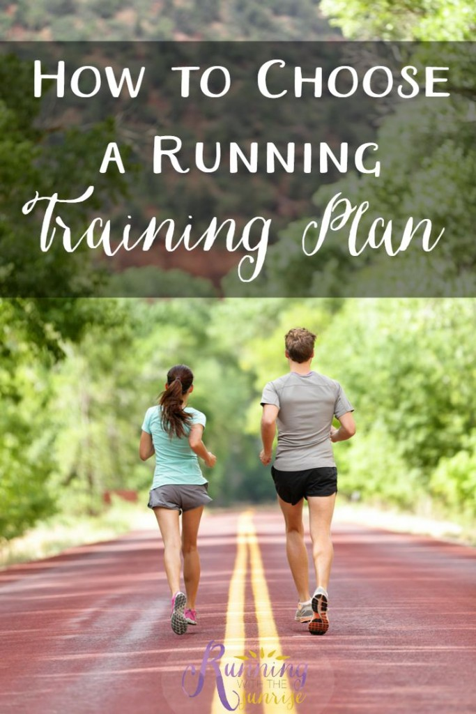 How to choose a running training plan: Simple tips to help you choose the right training plan for your needs.