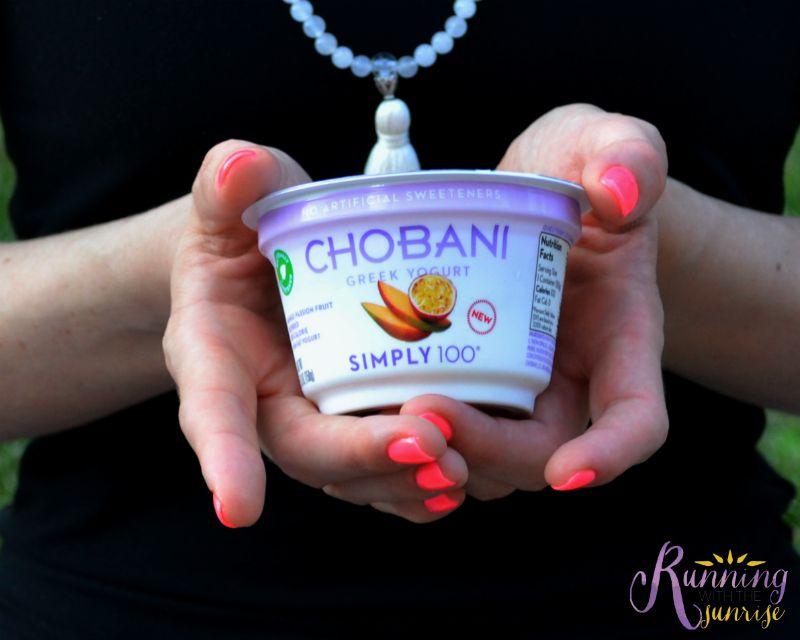 chobani in hands