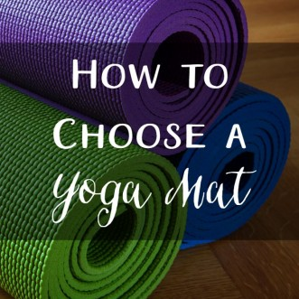 How to choose a yoga mat: what features you should look for when picking out a yoga mat.
