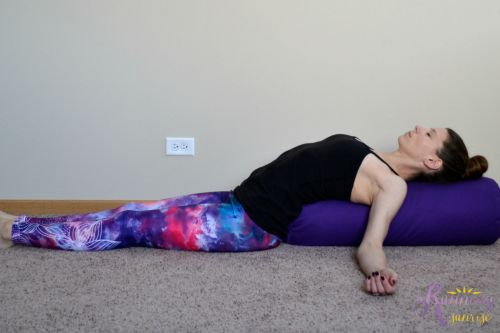 yin yoga poses: corpse pose
