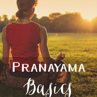 Pranayama Basics: The basics of yoga breathing, with some easy breathing exercises to try.