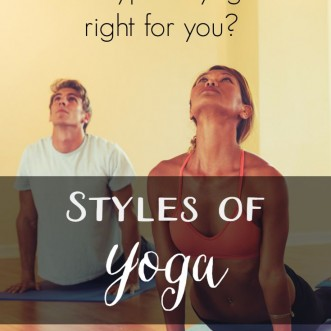 Yoga styles: an overview of the major styles of yoga