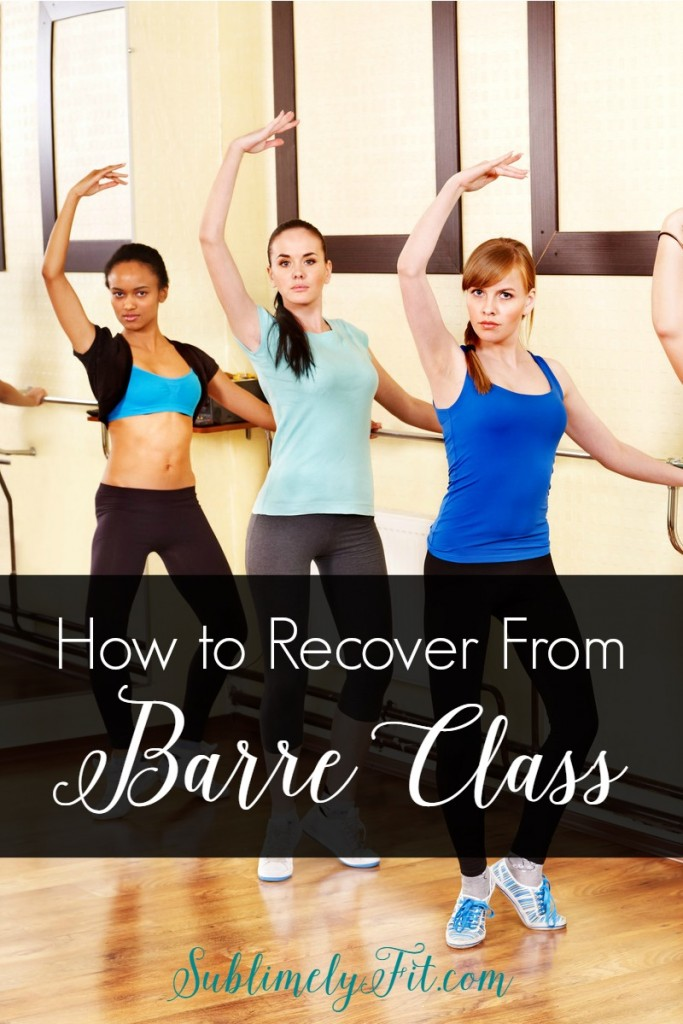 Still sore from your last barre class? Read these great tips to help you recover from barre class so you can get stronger and build endurance.