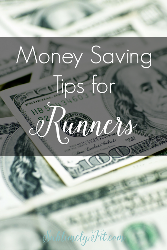 Tired of feeling like you spend your entire paycheck on running gear? Try these money saving tips for runners!