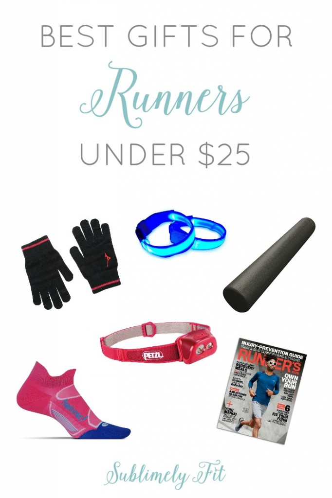 Best gifts for runners under $25. Perfect if you're looking for a budget-friendly gift for the runner in your life!