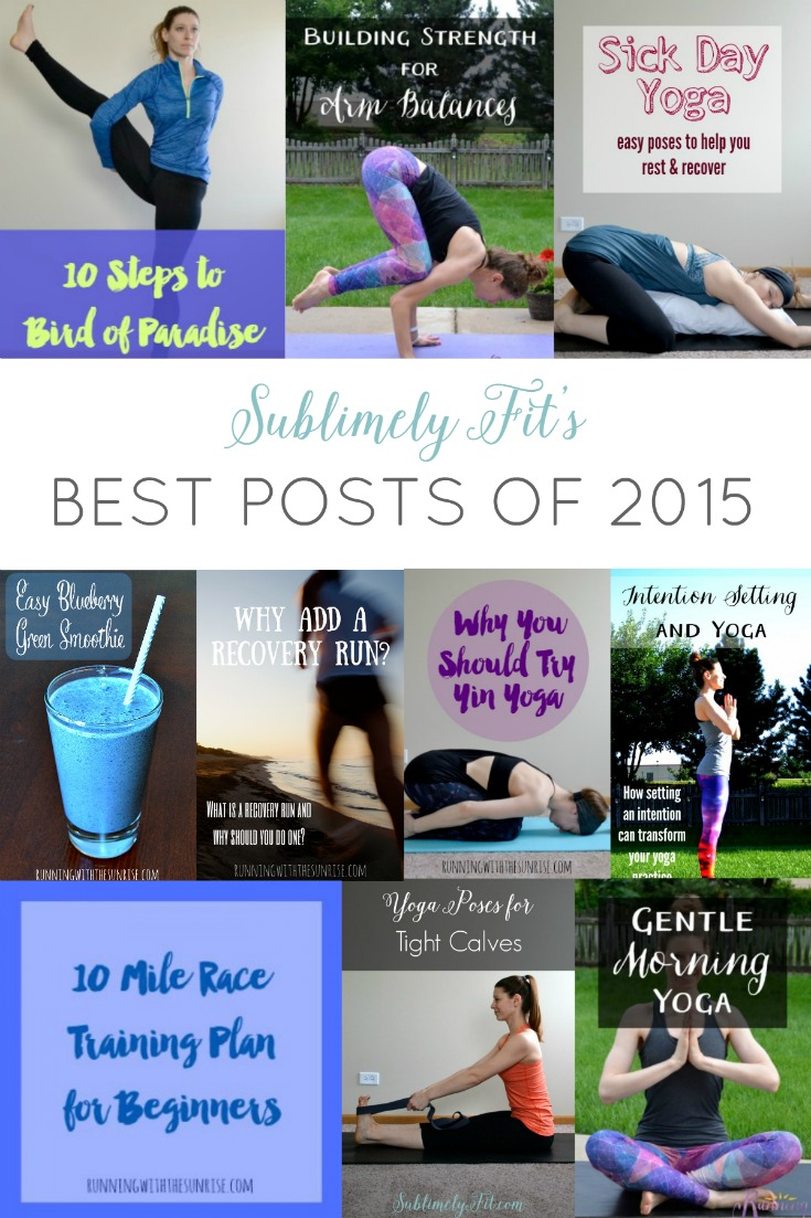 Read all of the top posts published by Beth at Sublimely Fit in 2015!