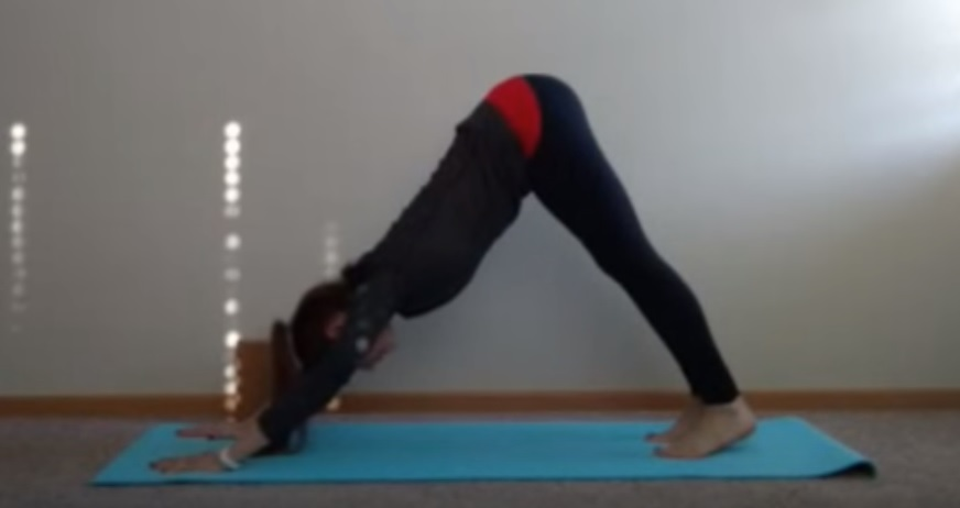 Yoga Sequence for Runners: Downward Facing Dog