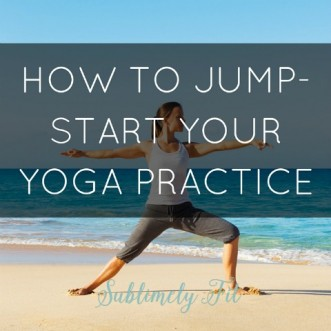 Learn how to jump-start your yoga practice and get started on your yoga journey.