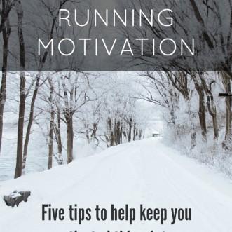 My Winter Running Motivation