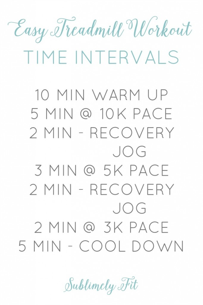 Three easy treadmill speed workouts to help you get faster when you can't or don't want to run outdoors.