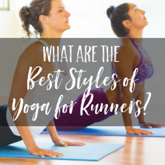 Runners, wondering what style of yoga to try? Learn more about the best styles of yoga for runners, based on what you need out of your yoga class.