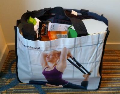 blogfest swag bag