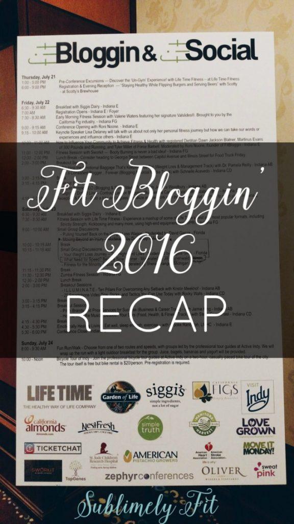 FitBloggin' and FitSocial 2016 Recap