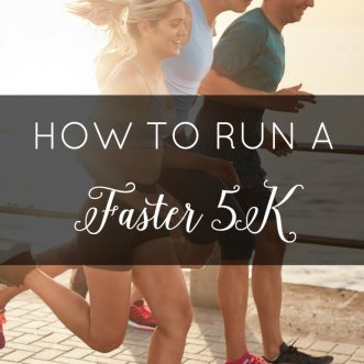 Just finished a 5K and you're ready to get faster? Check out these four tips to help you run a faster 5K!