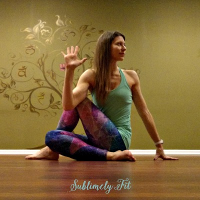 Yoga Poses for Runners' Hips: Lord of the Fishes Pose