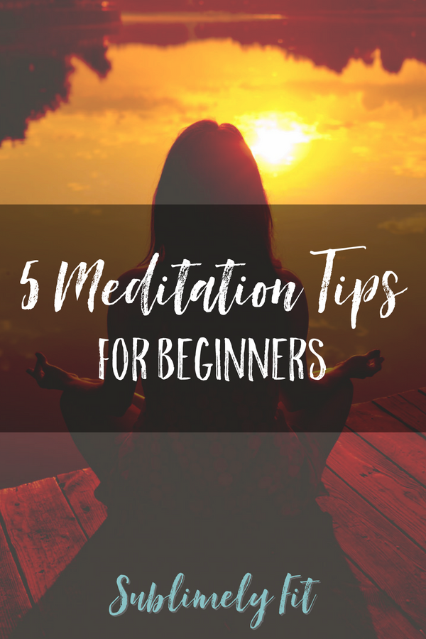 Looking to get into meditation so you can take advantage of its many benefits? These 5 meditation tips for beginners will help you get started!