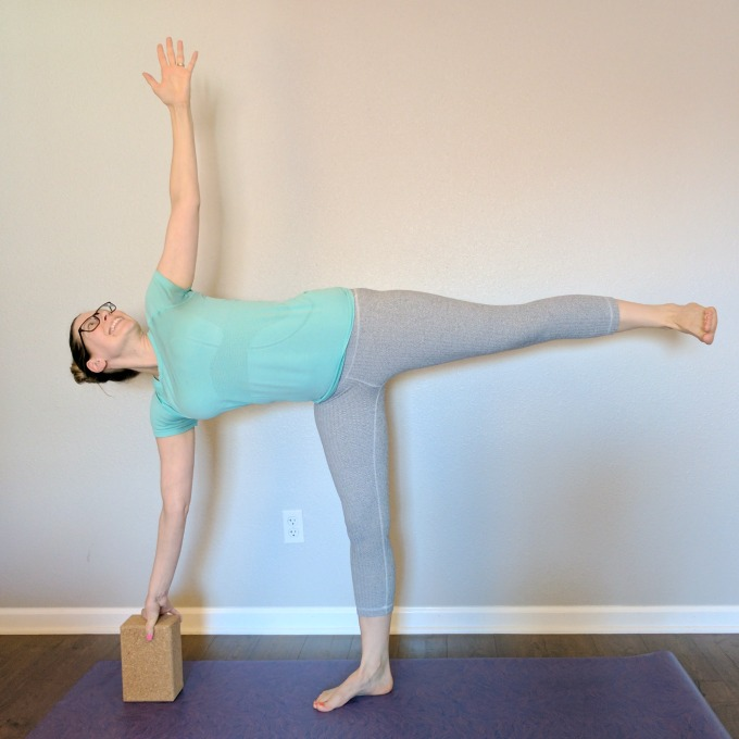 Half Moon Pose - Runners tend to repeat their favorite yoga poses. Is your routine missing these important poses that runners should be doing to prevent injury?
