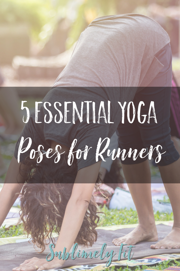 Don't miss these 5 essential yoga poses for runners! They're favorites among many runners for a good reason.