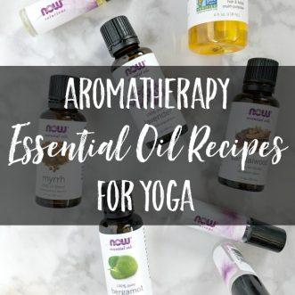 Aromatherapy Essential Oil Recipes for Yoga - Supplies