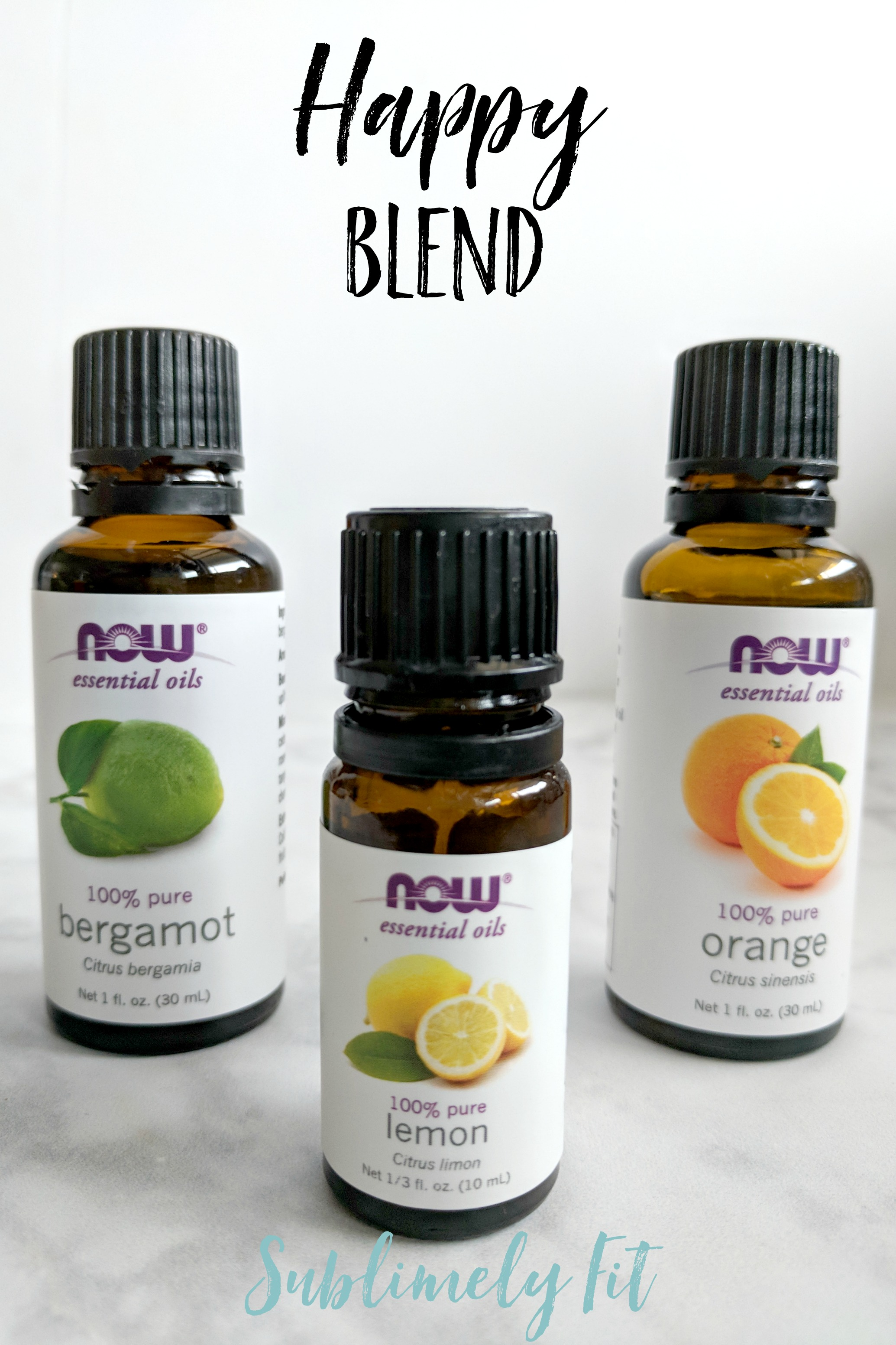 Aromatherapy Essential Oil Recipes for Yoga - Happy Blend