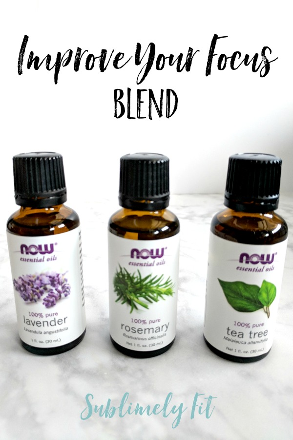 Aromatherapy Essential Oil Recipes for Yoga - Improve Your Focus Blend