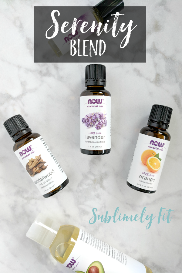 Aromatherapy Essential Oil Recipes for Yoga - Serenity Blend