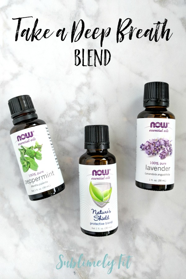 Aromatherapy Essential Oil Recipes for Yoga - Take a Deep Breath Blend
