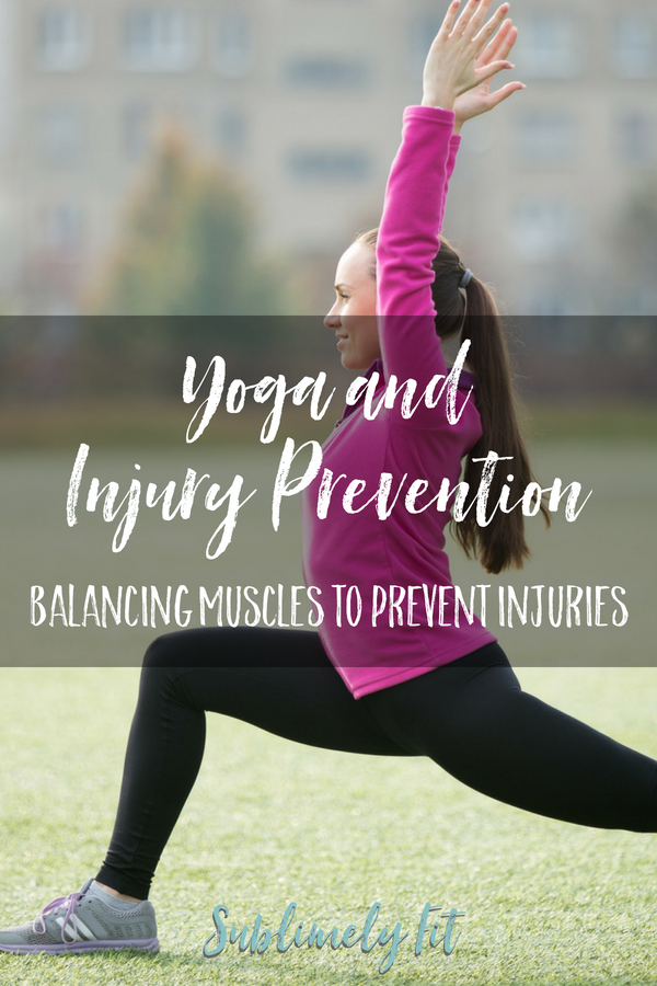 Tired of being injured all the time from running or other activities? Your injuries may be caused by muscle imbalances. Learn how yoga can help you even things out so you can stay injury-free.