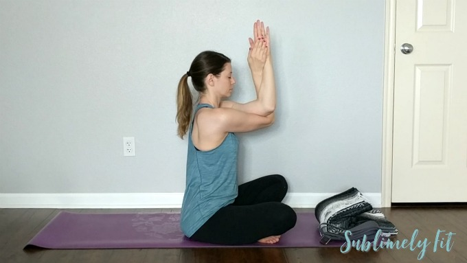 Gentle Yoga Sequence for Upper Back and Shoulders - Eagle Arms