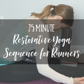 Restorative Yoga Sequence for Runners